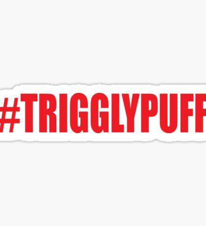TrigglyPuff (Red) Sticker