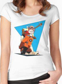 FLCL - Haruko Women's Fitted Scoop T-Shirt