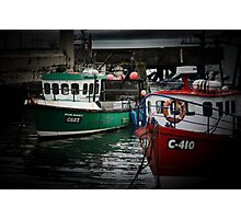 Cobh harbour southern ireland Photographic Print