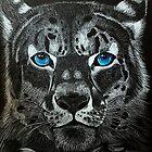 Snow Leopard  by missrumple