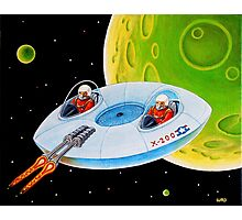 X-200 FLING SAUCER Photographic Print