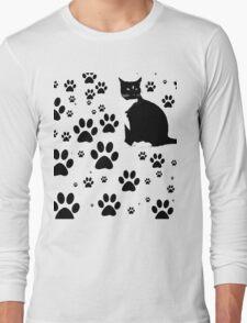 i love the purrryng CATS Long Sleeve T-Shirt