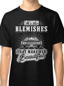SUPERNATURAL - IT'S THE BLEMISHES THAT MAKE HER BEAUTIFUL Classic T-Shirt