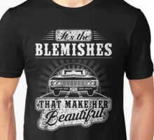 SUPERNATURAL - IT'S THE BLEMISHES THAT MAKE HER BEAUTIFUL Unisex T-Shirt
