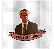 Fitzgerald Grant - Flower Crown Poster