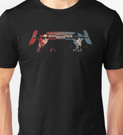BLUES BROTHERS POLICE CHASE Unisex T-Shirt