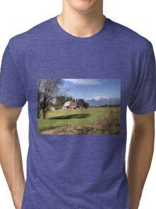 Little Valley Farm Tri-blend T-Shirt