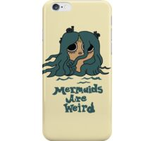 The Marvelous Misadventures of Flapjack Mermaids Are Weird iPhone Case/Skin