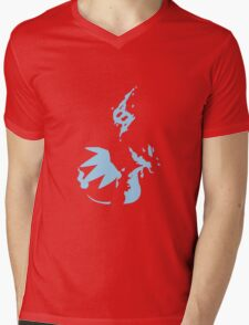 Mega Charizard X Mens V-Neck T-Shirt