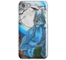 Halloween Werewolf  iPhone Case/Skin