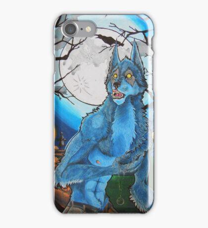 Halloween Werewolf  iPhone Case/Skin