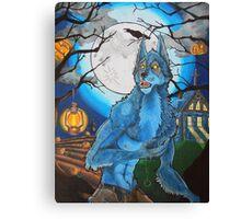 Halloween Werewolf  Canvas Print
