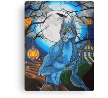 Halloween Werewolf  Canvas Print