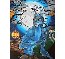 Halloween Werewolf  Photographic Print