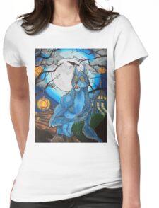 Halloween Werewolf  Womens Fitted T-Shirt