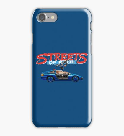 STREETS OF RAGE POLICE SUPPORT  iPhone Case/Skin