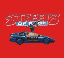 STREETS OF RAGE POLICE SUPPORT  One Piece - Short Sleeve