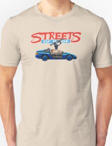 STREETS OF RAGE POLICE SUPPORT  Unisex T-Shirt
