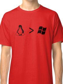 Linux/windows Classic T-Shirt