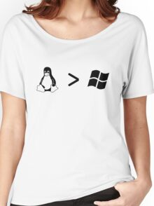 Linux/windows Women's Relaxed Fit T-Shirt