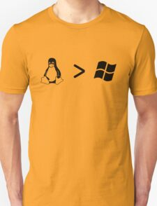 Linux/windows Unisex T-Shirt