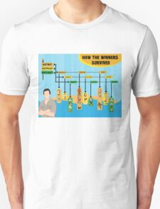Survivor Winners Infographic Unisex T-Shirt