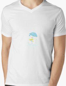 It's snowing maple!  Mens V-Neck T-Shirt
