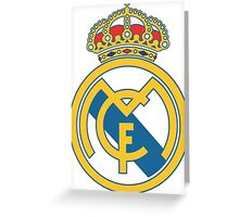 Real Madrid The Best Team (Los Galaticos Part 3) Greeting Card