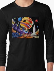 NEW WORLDS Long Sleeve T-Shirt
