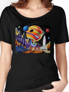 NEW WORLDS Women's Relaxed Fit T-Shirt