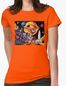 NEW WORLDS Womens Fitted T-Shirt
