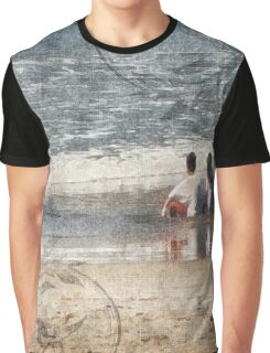 Amigos Mexico - Kids in the Beach Graphic T-Shirt