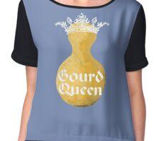 Gourd Queen Chiffon Top