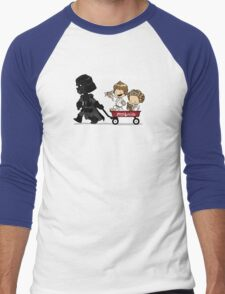 Wagon Ride Men's Baseball ¾ T-Shirt