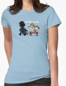 Wagon Ride Womens Fitted T-Shirt