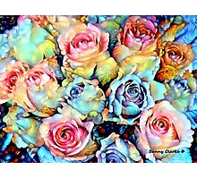 For Love of Roses Photographic Print