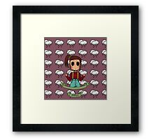 Chibi Fashion Girl #13 Framed Print