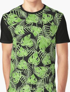 Green leaves Graphic T-Shirt