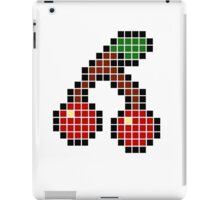 8 bit pixel cherries iPad Case/Skin