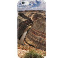 Goosenecks State Park iPhone Case/Skin