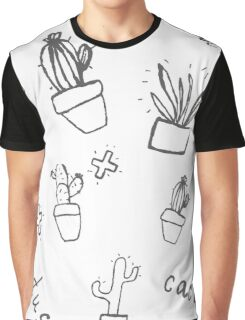 Hand draw cactus  Graphic T-Shirt