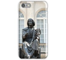 Nicolaus Copernicus Monument Warsaw Poland iPhone Case/Skin