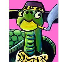 Turtle Pimp Photographic Print