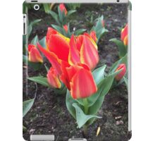 Red Flower like an Open Flame iPad Case/Skin