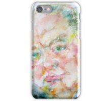 WINSTON CHURCHILL - watercolor portrait.4 iPhone Case/Skin