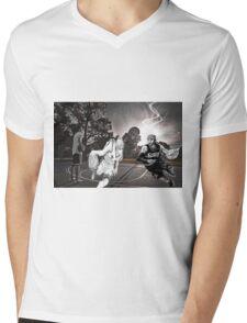 Allen Iverson & Taiga Kagami  Mens V-Neck T-Shirt