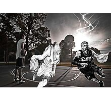 Allen Iverson & Taiga Kagami  Photographic Print