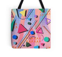 80s pop retro pattern 2 Tote Bag