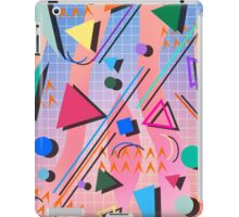 80s pop retro pattern 2 iPad Case/Skin