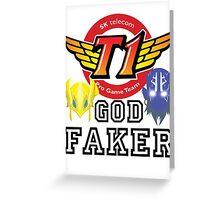 Faker Greeting Card